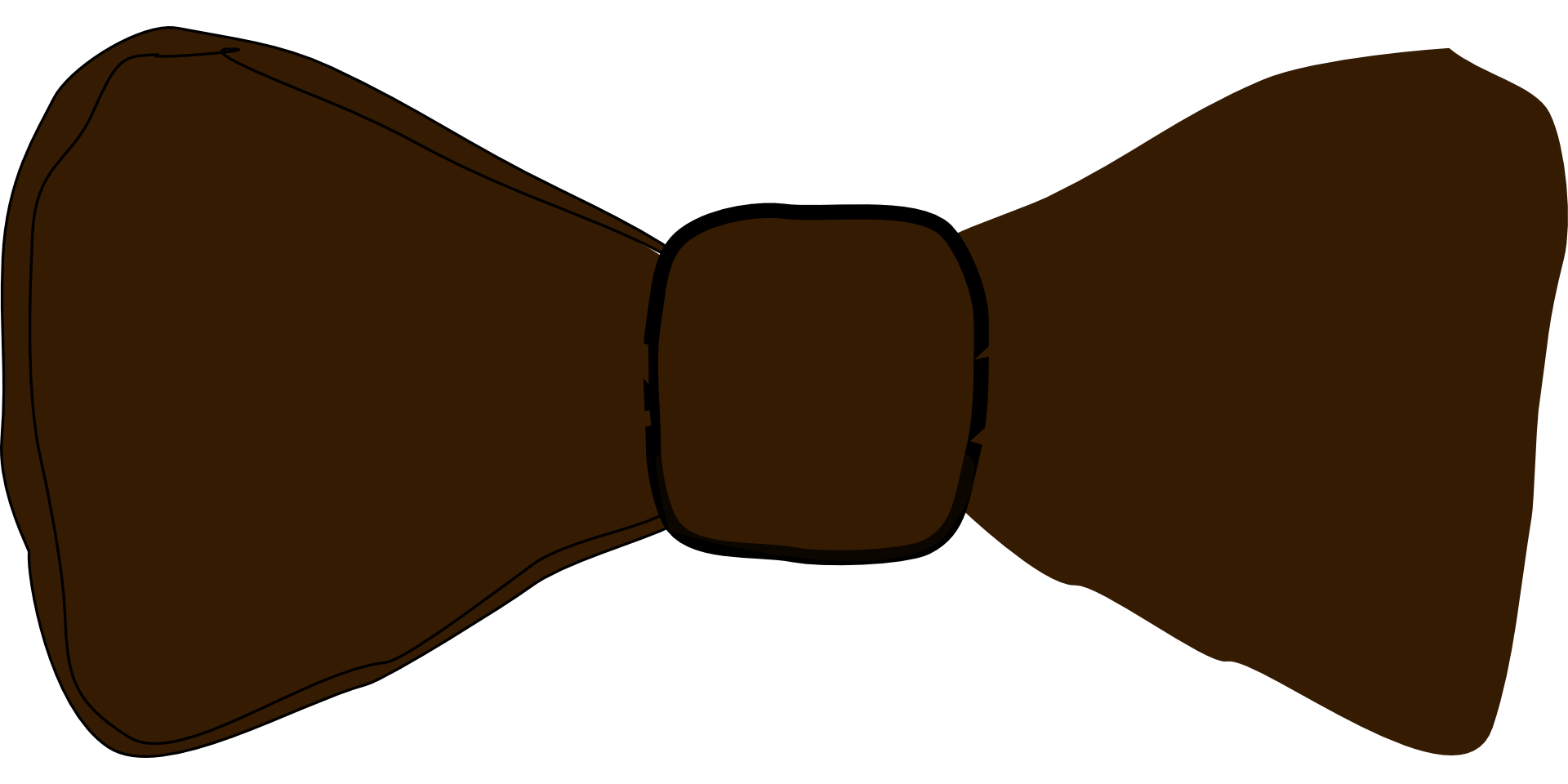 Brown photo prop template. Moustache clipart bow tie