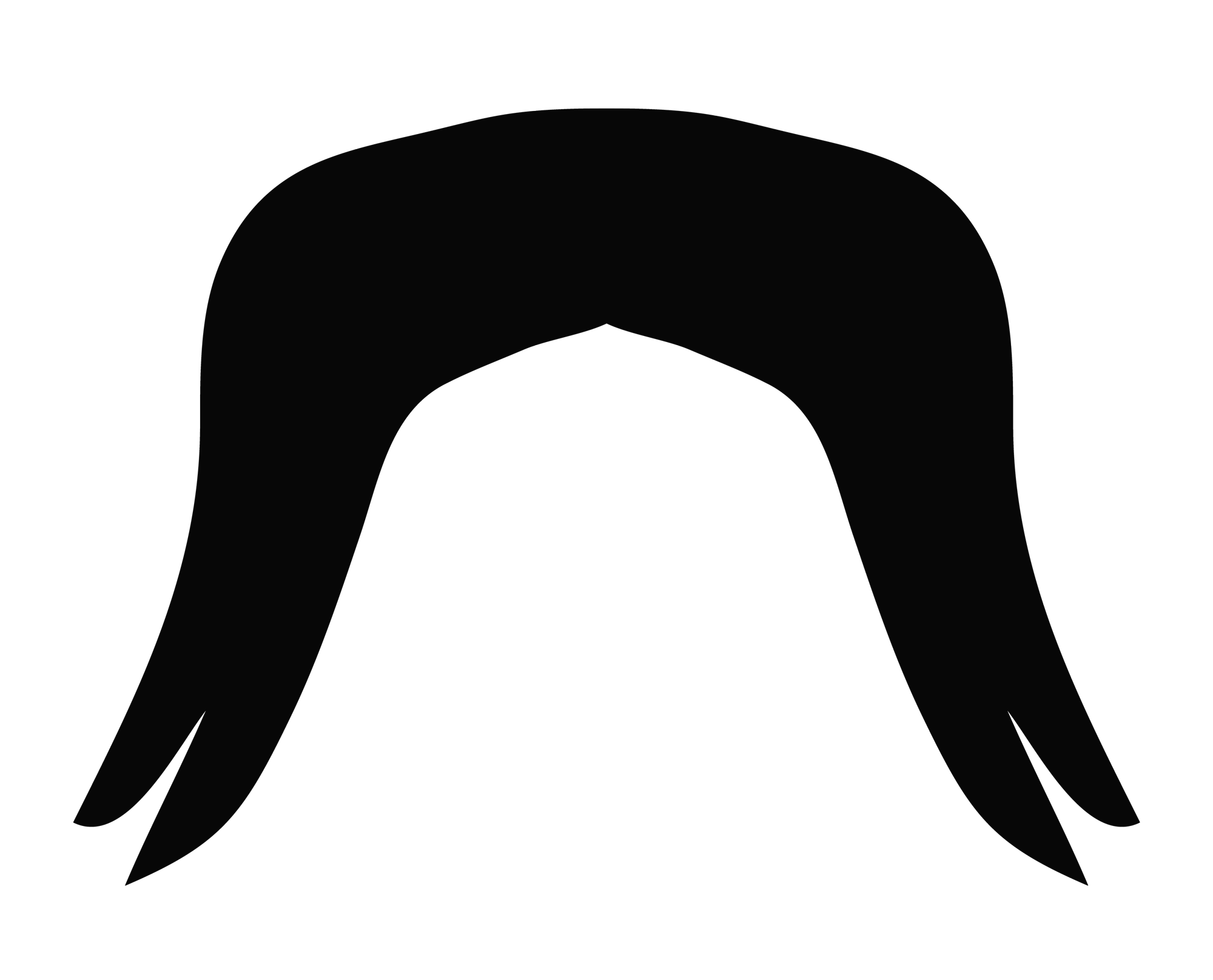 Moustache clipart chasma. Png image pngpix