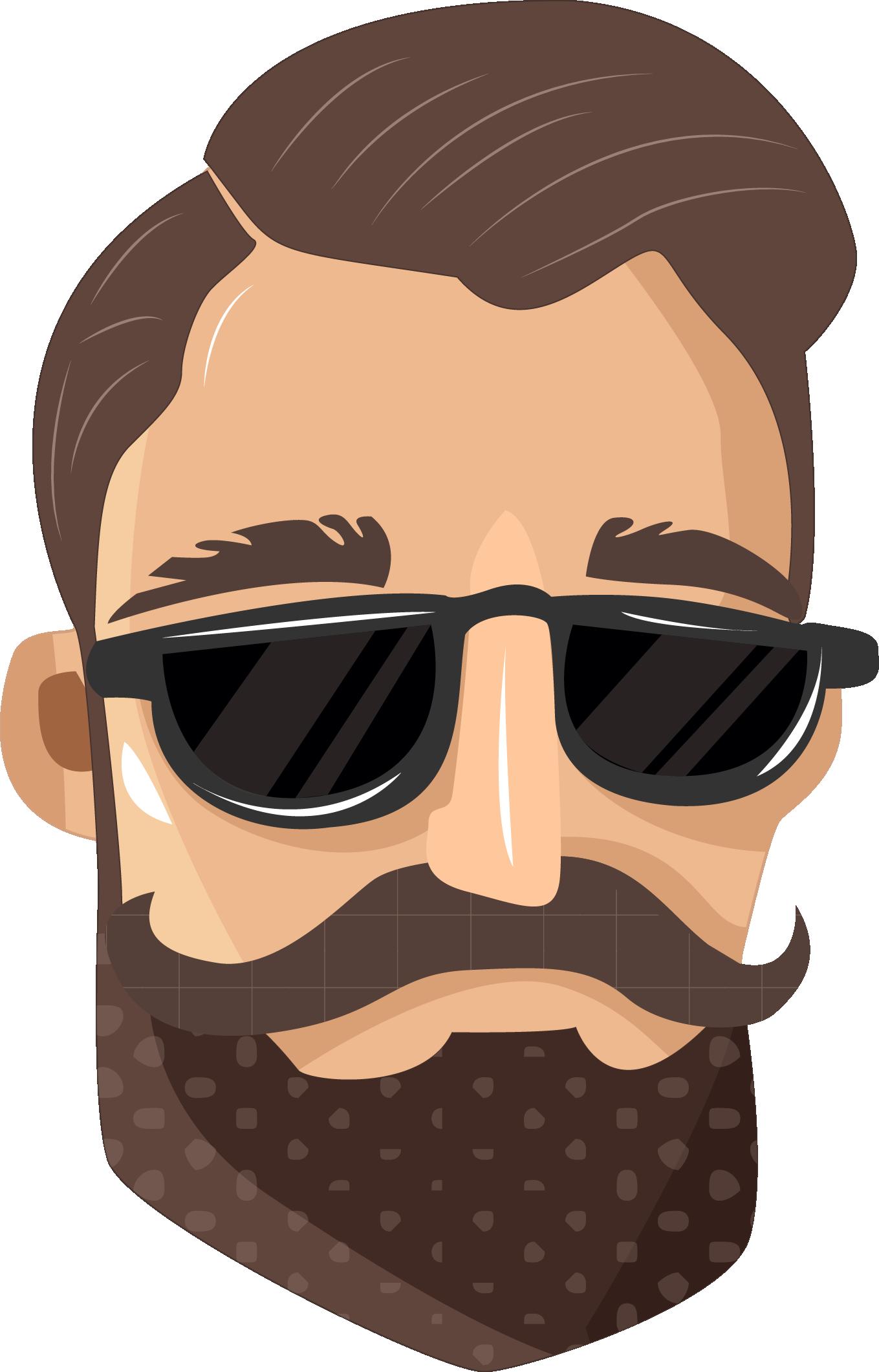 Clipart mustache dap. Pin by hammad aslam