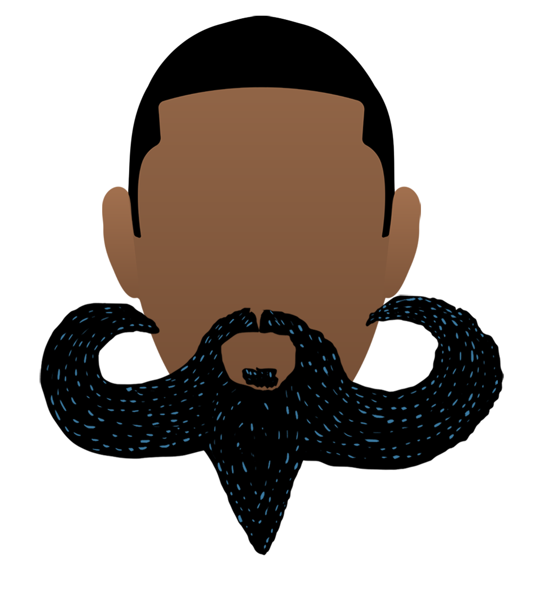 Moustache clipart fu manchu. How to shave off