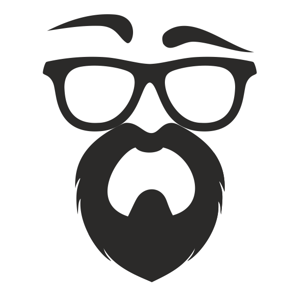 Why i f ing. Moustache clipart geeky glass