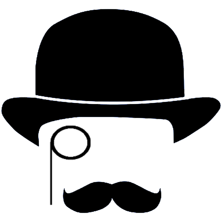 The gentlemen gamers thegentgamers. Moustache clipart gentleman hat