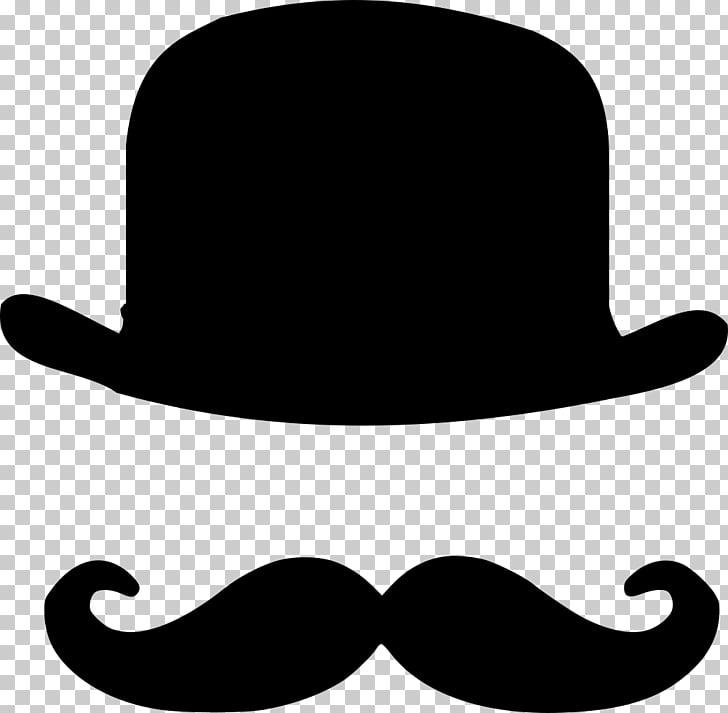 Moustache clipart hat derby. T shirt bowler top