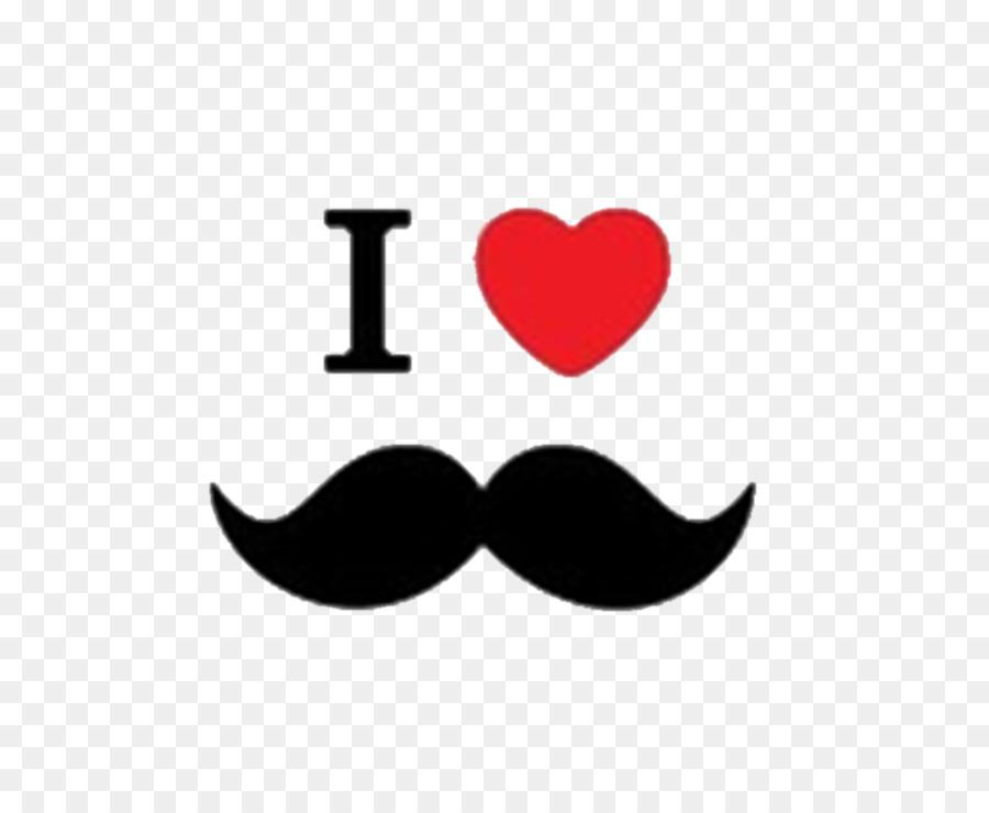 Love background beard . Moustache clipart heart