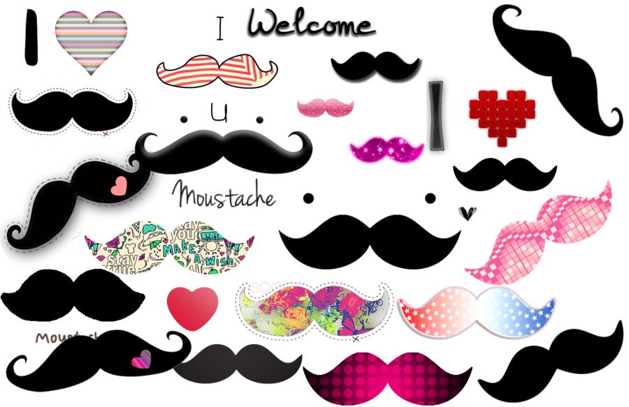 Mania its mainly about. Moustache clipart heart