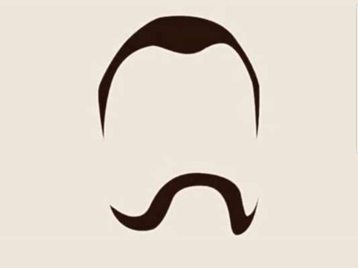 Abhinandan s gunslinger is. Moustache clipart mooch