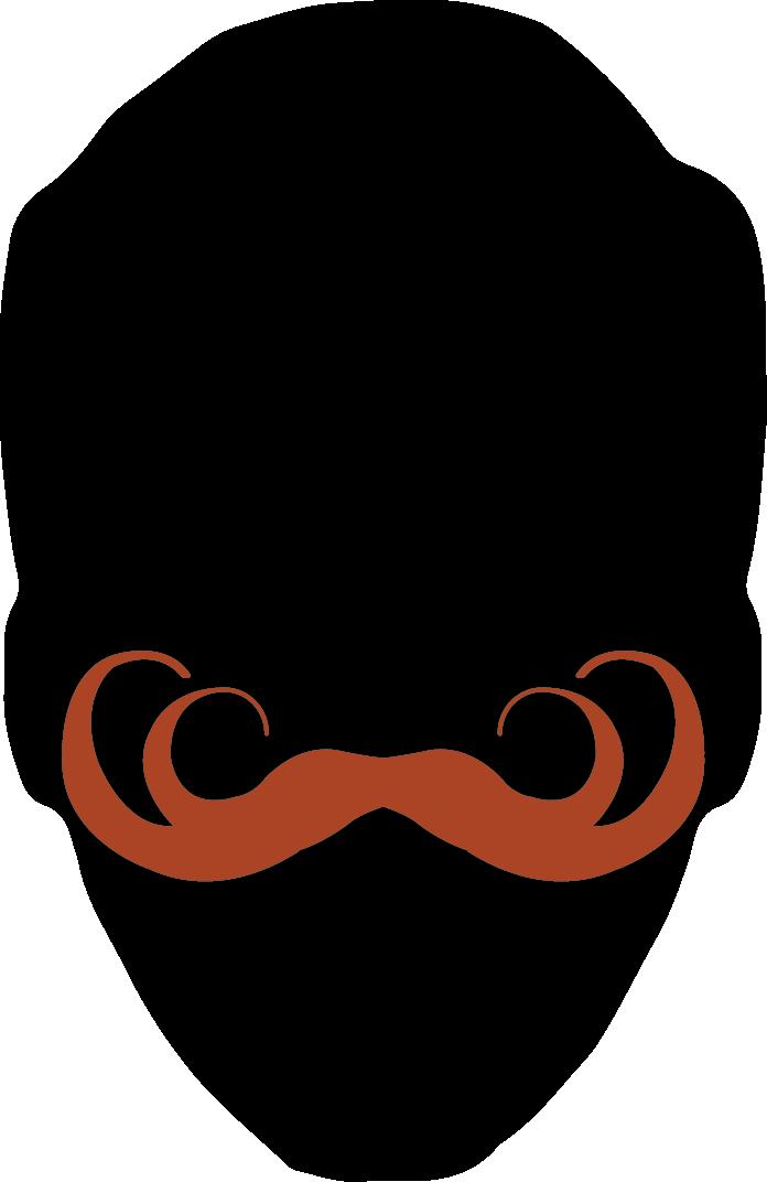 Austin facial hair club. Moustache clipart mustache