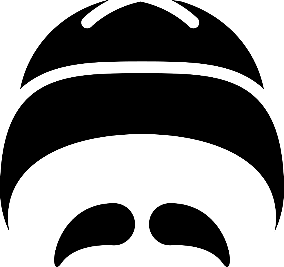 Hat and svg png. Moustache clipart mustache chinese