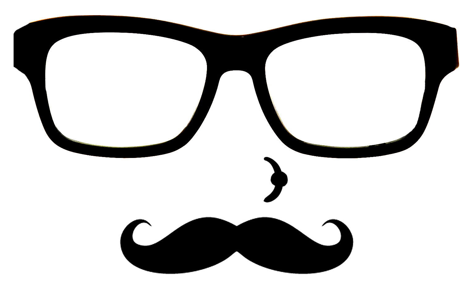 Privacy policy tony hill. Moustache clipart nerd glass