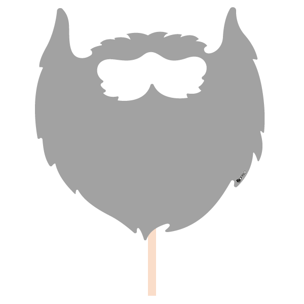 Moustache clipart photo booth. Party photobooth props figure