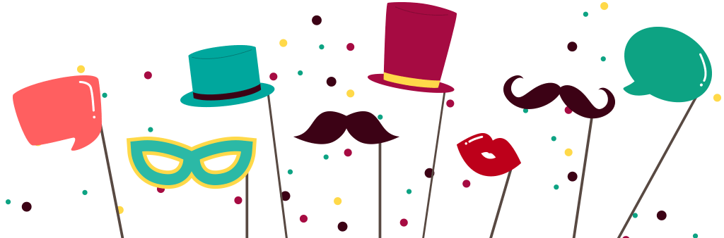 Moustache clipart photo booth. Aivyn booths packages hour