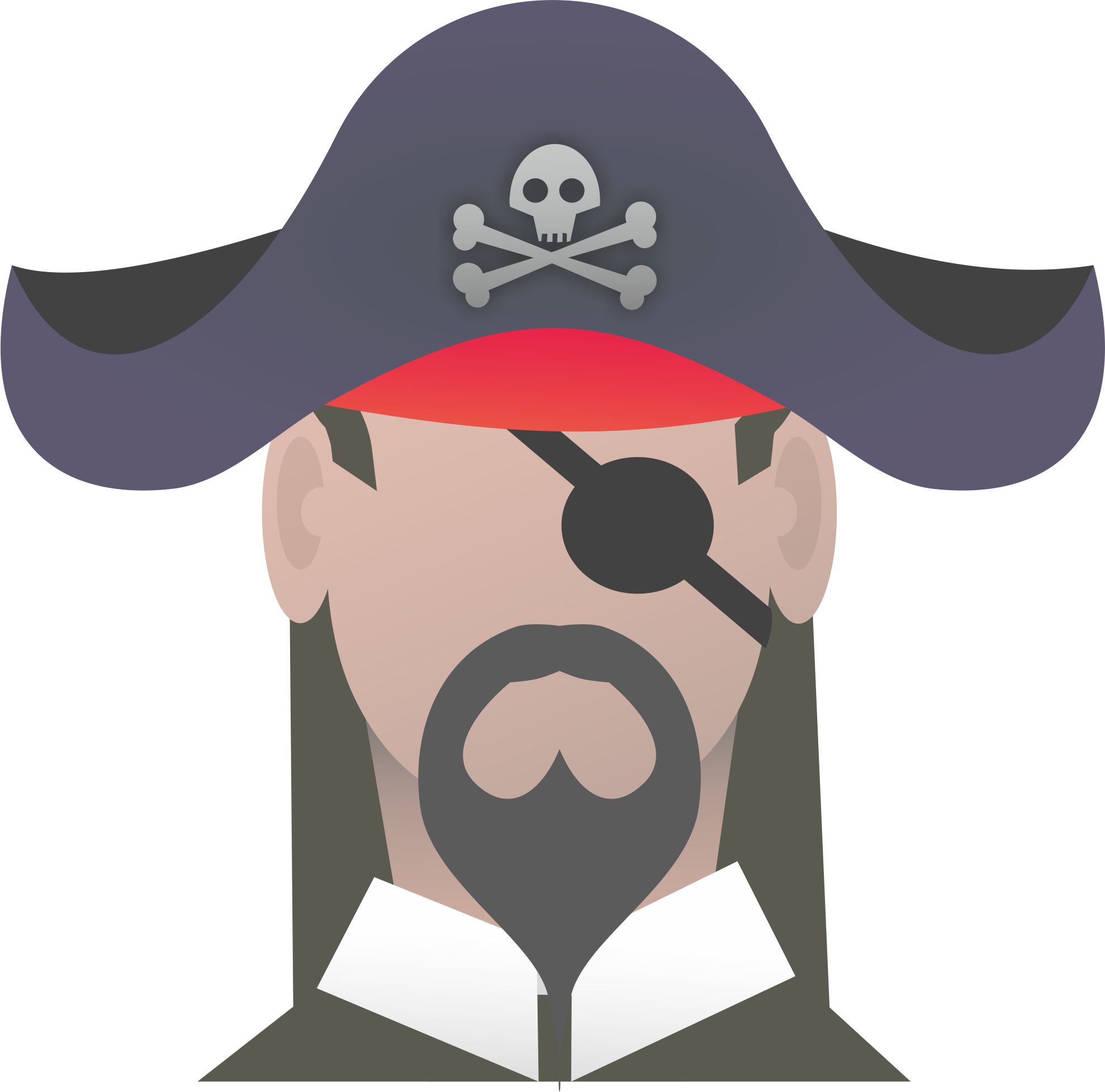 Moustache clipart pirate accessory. Symbols hwfp if your