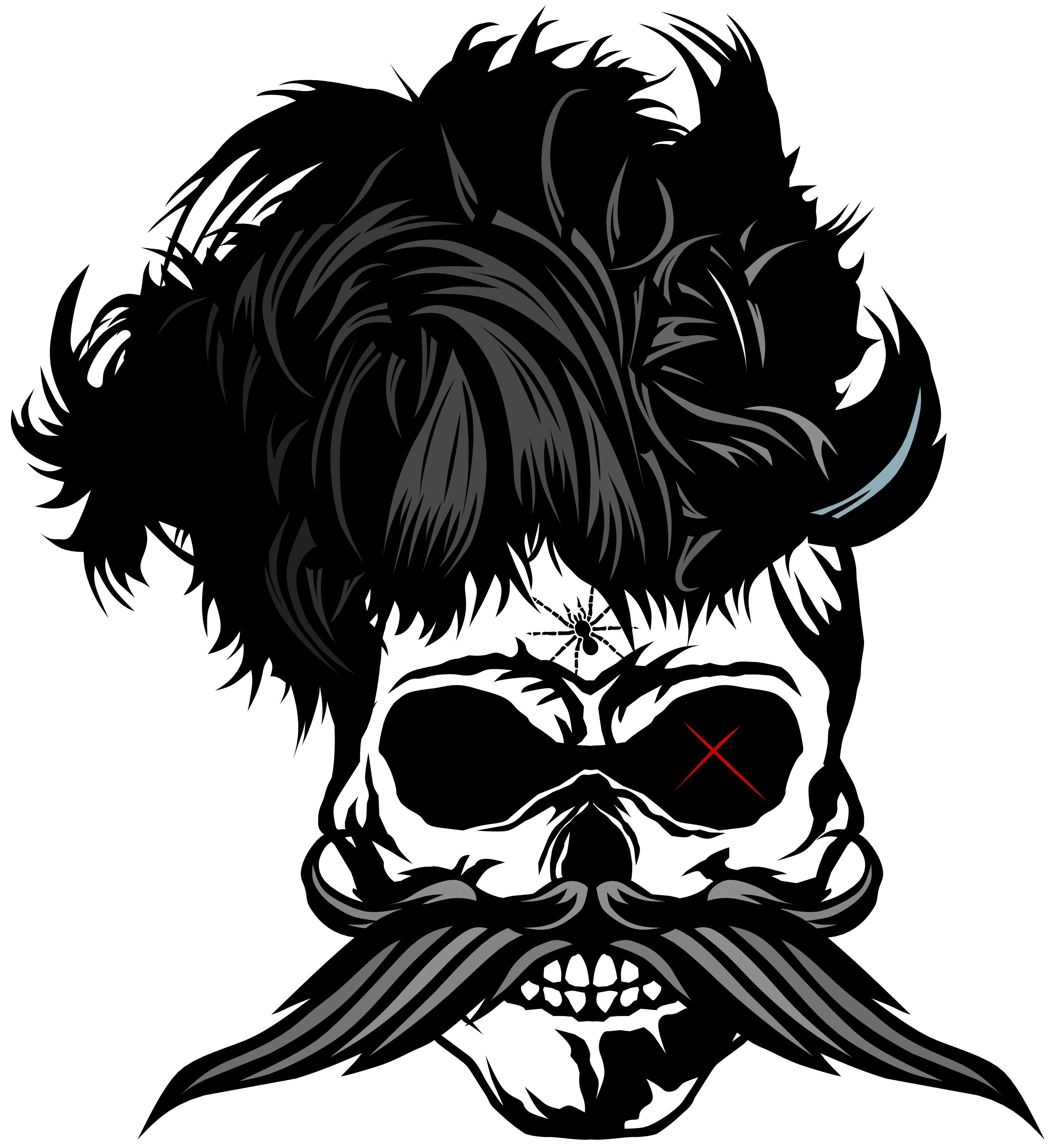 Mustache clipart biker. Tee shirt tete de