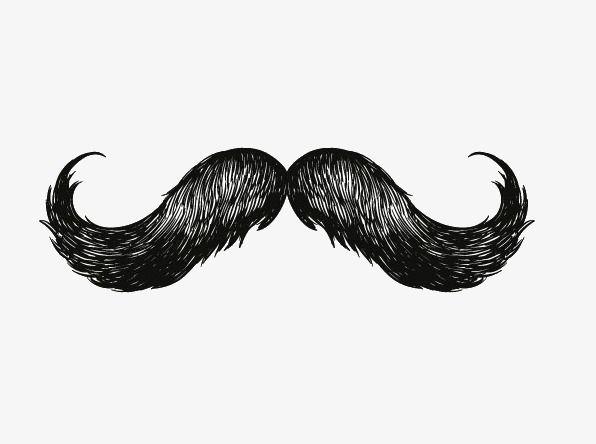 Mustache beard png transparent. Moustache clipart psd