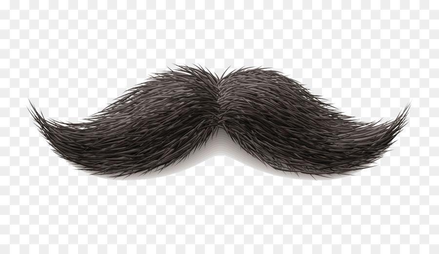 Cartoon beard transparent . Moustache clipart psd