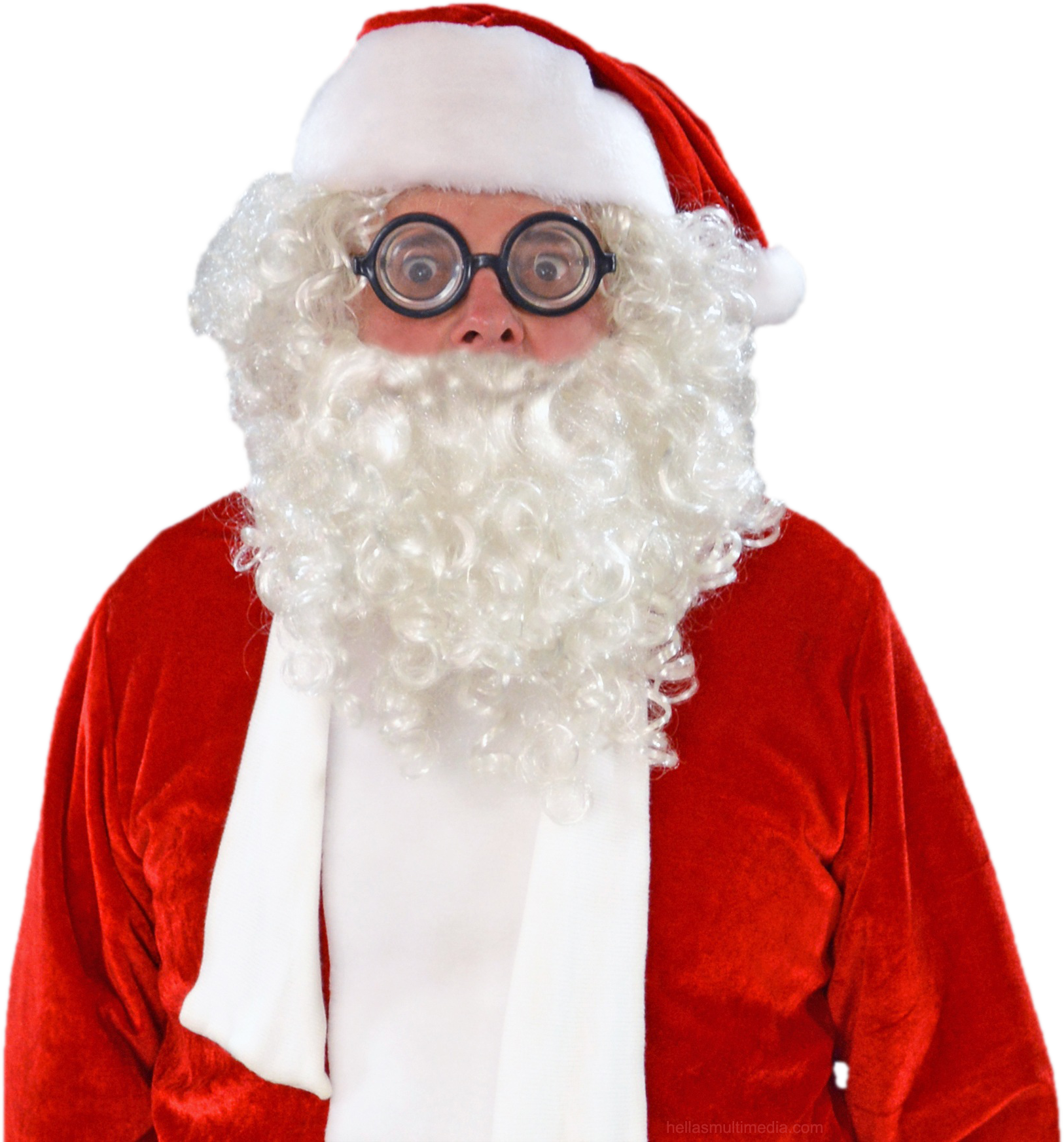 Claus png images free. Moustache clipart santa