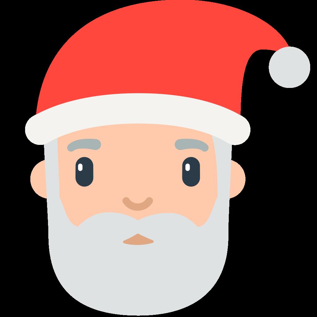 File fxemoji u f. Moustache clipart santa