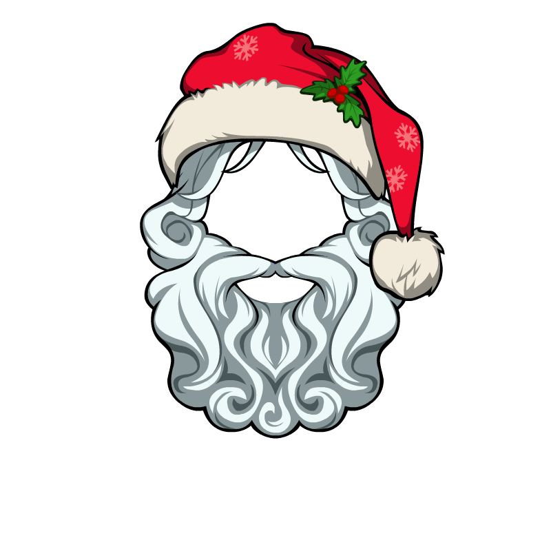 Moustache clipart santa. Image hat male png