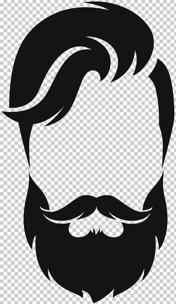 Beard png animals artwork. Moustache clipart silhouette