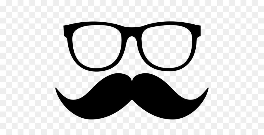 Cartoon png download free. Moustache clipart spectacles frame