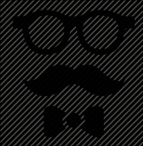 hipster by beguima. Moustache clipart vintage