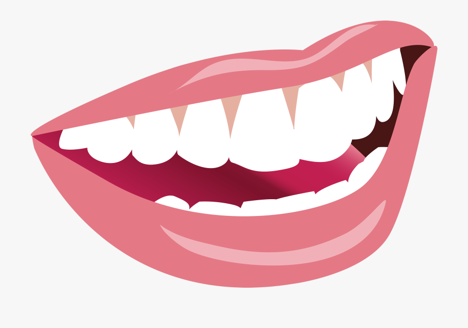 Smiling png image teeth. Mouth clipart
