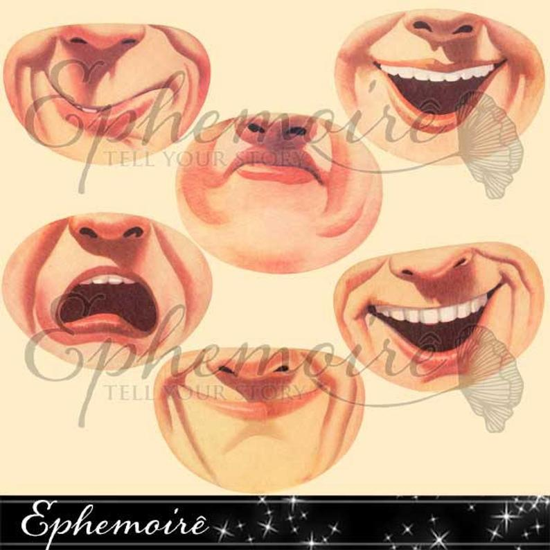 Mouths images clip art. Mouth clipart doll