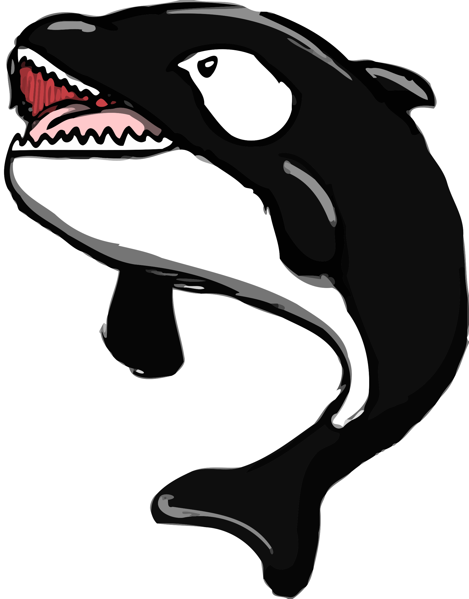 Whale open clip art. Mouth clipart eating