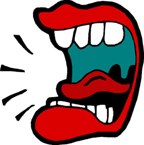 Mouth clipart loud mouth. Free talking cliparts download