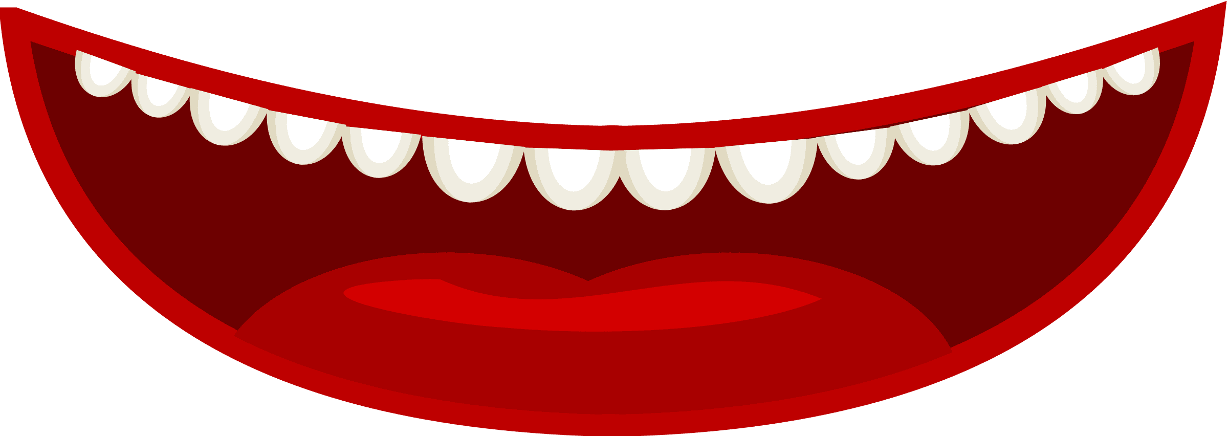 Smile png free images. Snake clipart open mouth