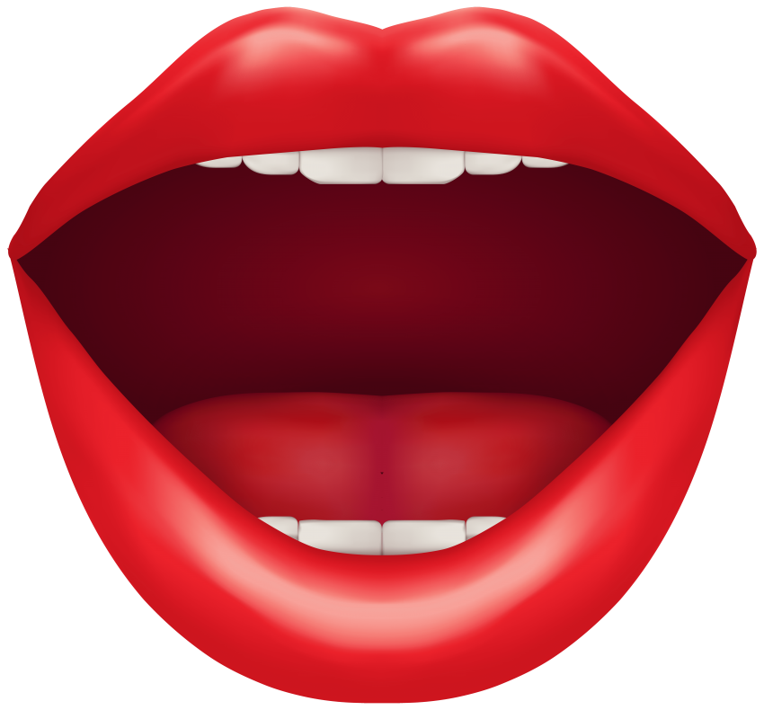Red png free images. Snake clipart open mouth