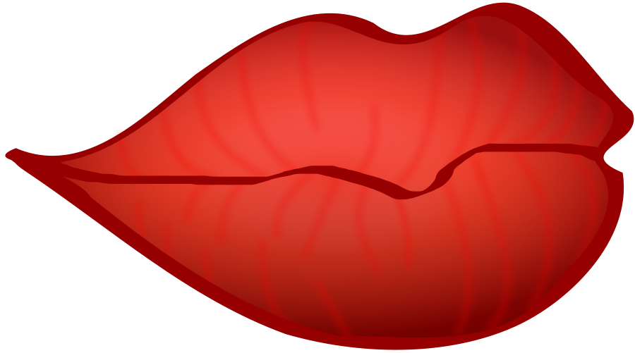 Free red lips download. Mouth clipart simple mouth