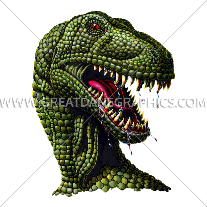 Mouth clipart t rex. Profile production ready artwork