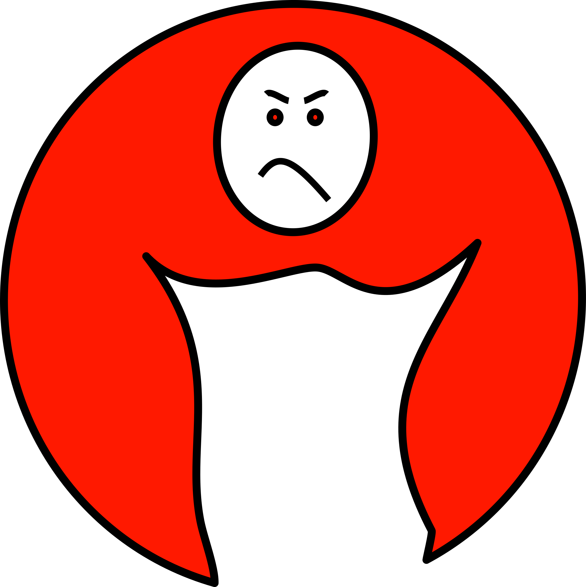 mouth clipart upset