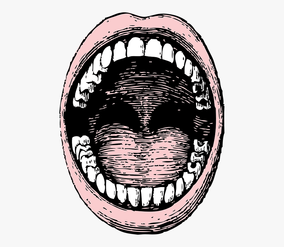 Drawing free cliparts on. Mouth clipart wide open mouth