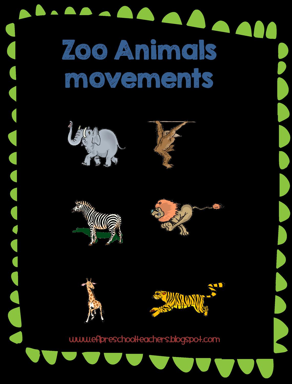 Movement clipart animal movement. Movements worksheets for kindergarten