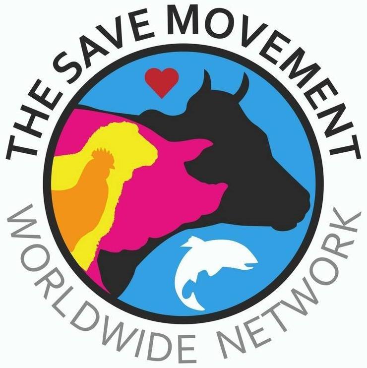 Save new logo circ. Movement clipart animal movement