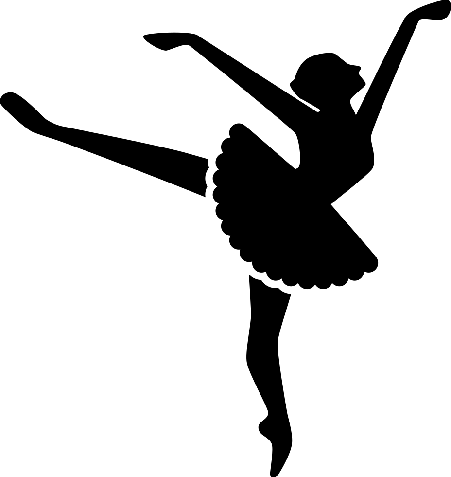Movement clipart ballet. Svg png icon free