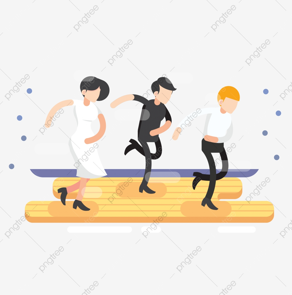Motion dance man png. Movement clipart dnace