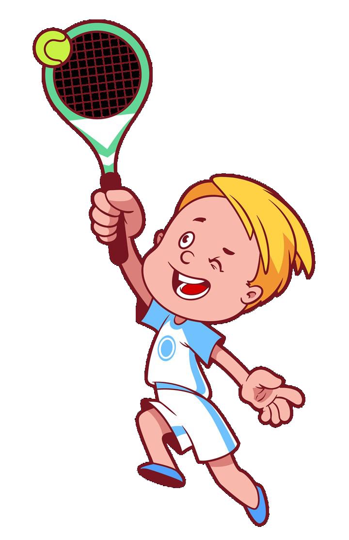 Tennis cartoon clip art. Movement clipart physical play