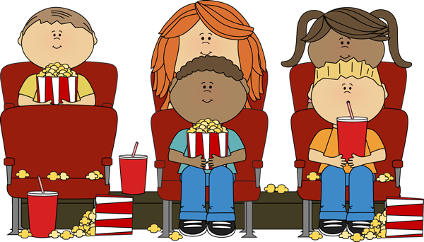 Movie clip art images. Movies clipart