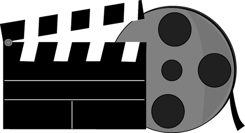 Movie clip art images. Action clipart documentary