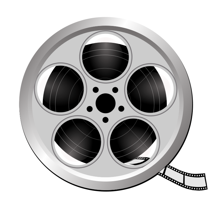 Cinema clipart reel. The actors room coaching
