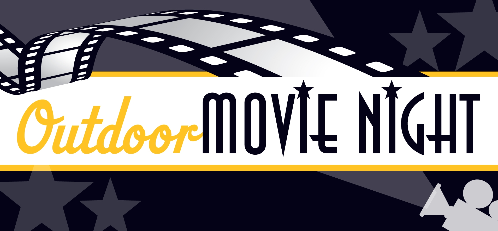 Night clipart outdoor movie night. Free cliparts download clip