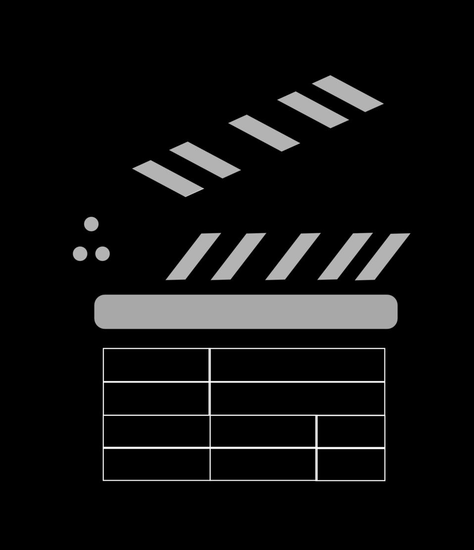 Public domain clip art. Movie clipart board