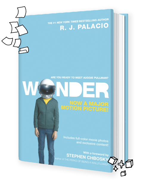 Wonder tie in edition. Movie clipart book movie
