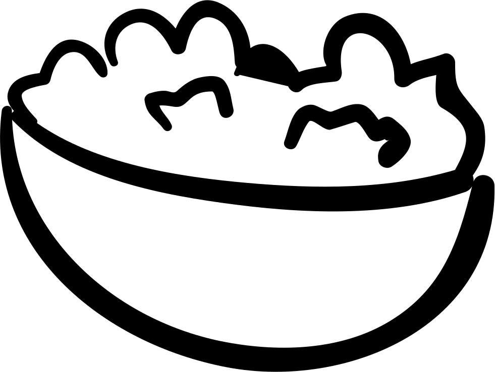 Hand drawn svg png. Movie clipart bowl popcorn