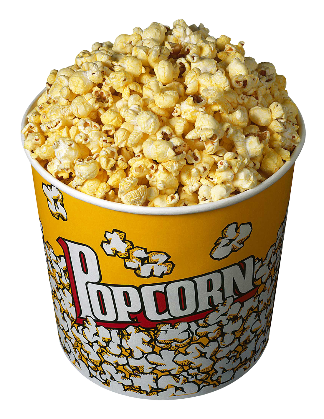Movie clipart bowl popcorn. In bucket png image