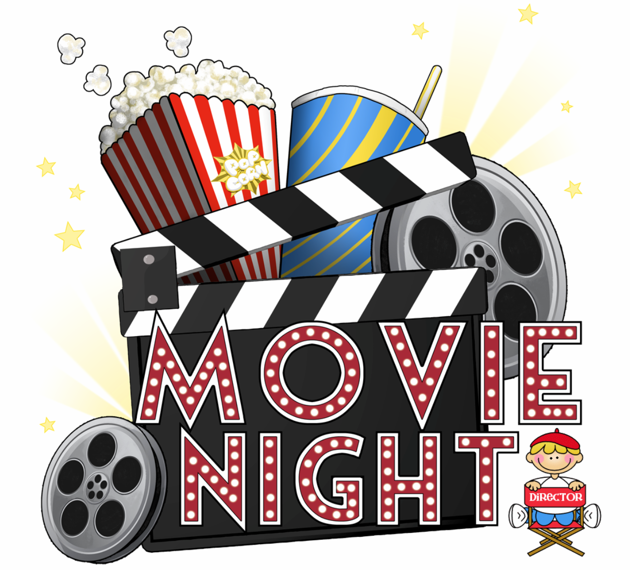 Home cliparts free download. Movie clipart clipart hd