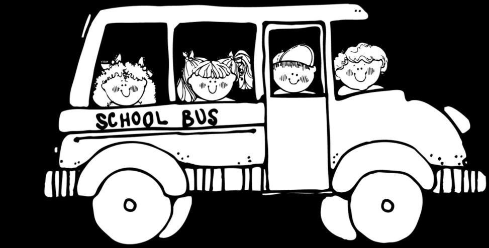 Black and white school. Movie clipart field trip